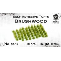 Paint Forge 02-12 Kępki trawy Brushwood 12mm 70szt.