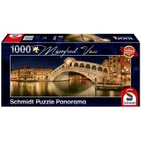 PQ Puzzle 1000 el. MANFRED VOSS Most Rialto / Wenecja (panorama)