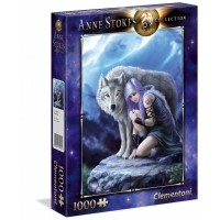 Puzzle 1000 el. Anne Stokes - Opiekun Anne Stokes Collection Clementoni