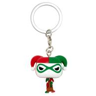 Funko Pop Keychain: DC - Harley Quinn (Holiday) Funko - DC Funko - POP!