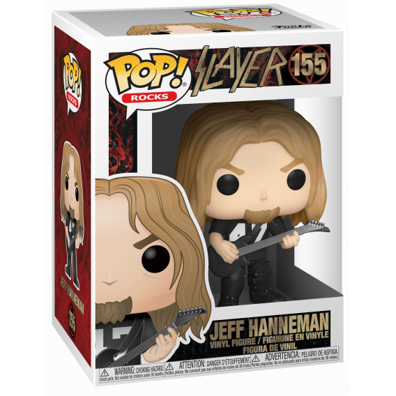 Figurka Funko POP Rocks: Slayer - Jeff Hanneman 155 Funko - Rocks Funko - POP!