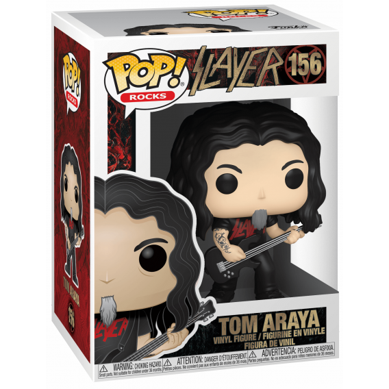 Figurka Funko POP Rocks: Slayer - Tom Araya 156 Funko - Rocks Funko - POP!