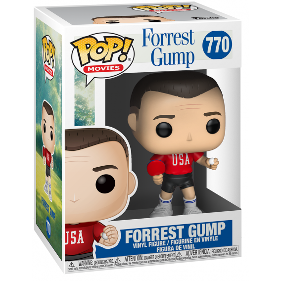Figurka Funko POP Movies: Forrest Gump - Forrest (Ping Pong Outfit) 770 Funko - Movies Funko - POP!