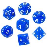 Komplet kości REBEL RPG - Kamienie Księżycowe - Lapis Lazuli Kamienie Księżycowe Rebel