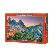 Puzzle 1500 el. Wschód słońca nad Castelmezzano