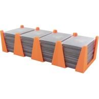 Feldherr Card Holder for game cards in Mini European Board Game Size - 600 cards - 4 trays Organizery Feldherr