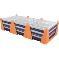 Feldherr Card Holder for game cards in Standard Card Game Size - 450 cards - 3 trays Organizery Feldherr