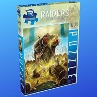 Puzzle 1000 el. Raiders of the North Przedsprzedaż Renegade Game Studios