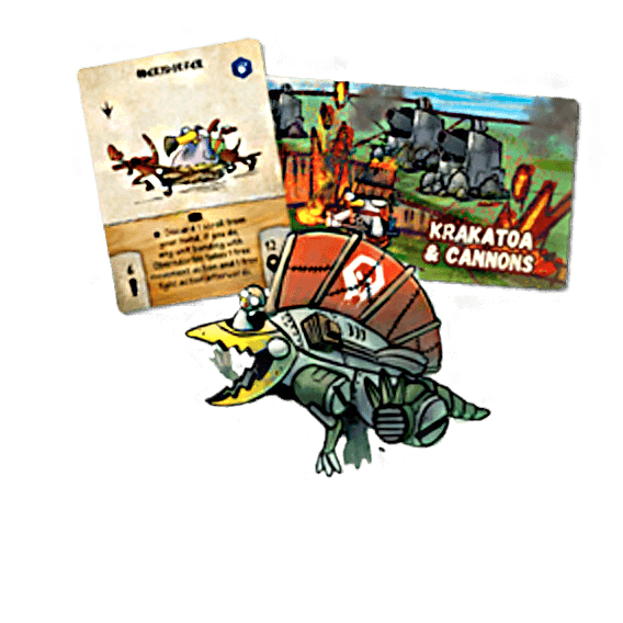 Dodos Riding Dinos/War For Chicken Island Crossover Pack Przedsprzedaż Draco Gaming
