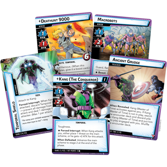 Marvel Champions: The Card Game - The Once and Future Kang Scenario Packs Fantasy Flight Games