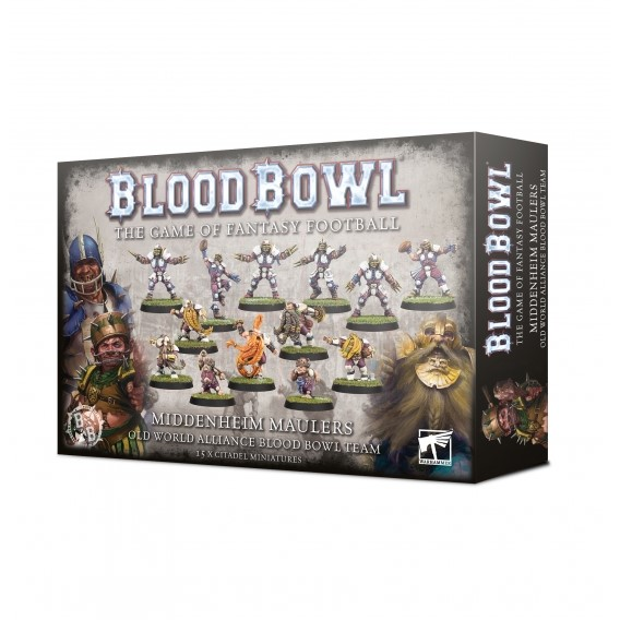 BLOOD BOWL : The Middenheim Maulers Blood Bowl Games Workshop
