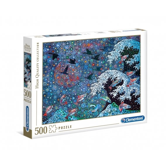 Puzzle 500 el. Dancing with the Stars Malarstwo Clementoni