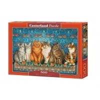 Puzzle 500 el. Cat Aristocracy
