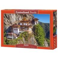 Puzzle 500 el. View of Paro Taktsang, Bhutan
