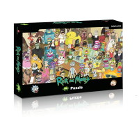 Puzzle 1000 el. Rick&Morty Puzzle Winning Moves GmbH