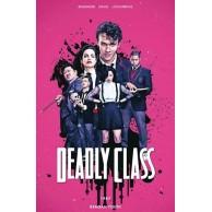 Deadly Class - 1 - 1987. Regan Youth (okładka filmowa) Komiksy sensacyjne i thrillery Non Stop Comics