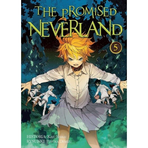 The Promised Neverland - 5 shounen Waneko