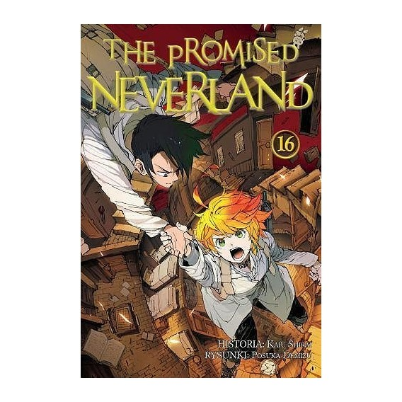 The Promised Neverland - 16 shounen Waneko