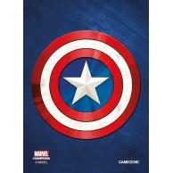 MARVEL Art Sleeves (66 mm x 91 mm) Captain America 50+1 szt. Przedsprzedaż Gamegenic