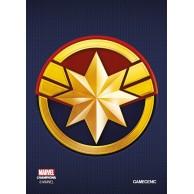 MARVEL Art Sleeves (66 mm x 91 mm) Captain Marvel 50+1 szt. Gamegenic Gamegenic
