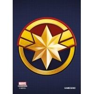 MARVEL Art Sleeves (66 mm x 91 mm) Captain Marvel 50+1 szt. Przedsprzedaż Gamegenic