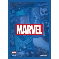 MARVEL Art Sleeves (66 mm x 91 mm) Blue 50+1 szt.