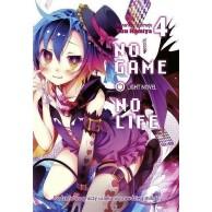 No Game No Life - 4 (light novel).