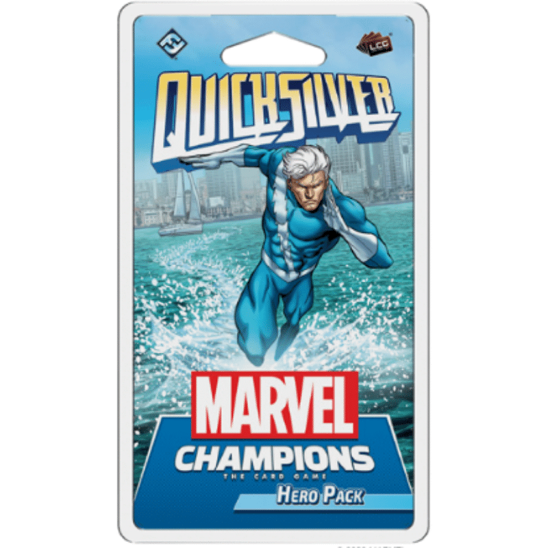 Marvel Champions: The Card Game -Quicksilver Hero Pack
