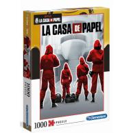 Puzzle 1000 el. La Casa de Papel - Dom z Papieru 2 Filmy Clementoni