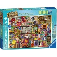 Puzzle 1000 el. Niepowtarzalny kredens