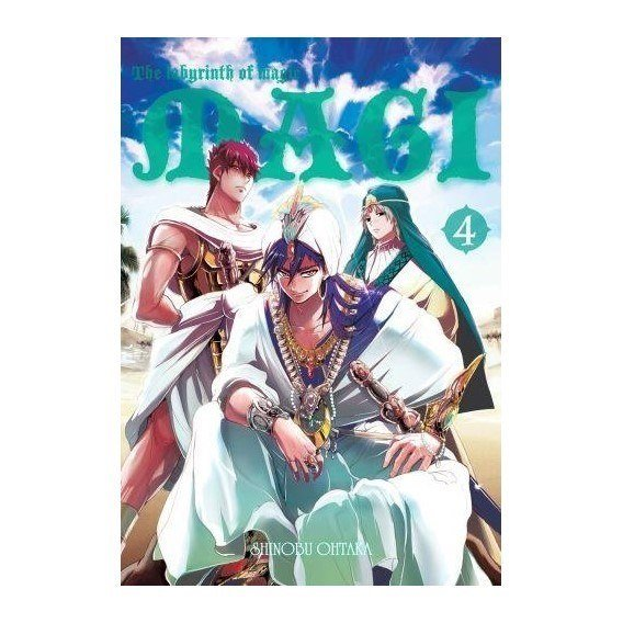 Magi: Labyrinth of Magic - 4 shounen Waneko