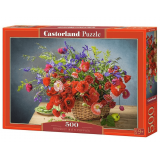 Puzzle 500 el. Bouquet with Poppies Martwa Natura Castorland