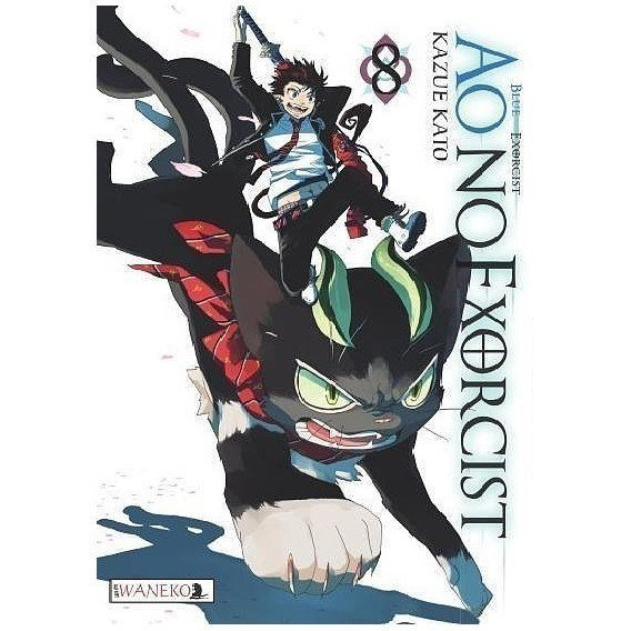 Ao No Exorcist - 8 Shounen Waneko