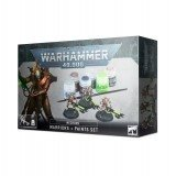 Warhammer 40000: Necrons: Warriors + Paints Set Warhammer 40.000 Games Workshop