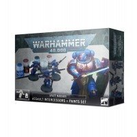 Warhammer 40000: Space Marines: Assault Intercessors + Paints Set Warhammer 40.000 Games Workshop