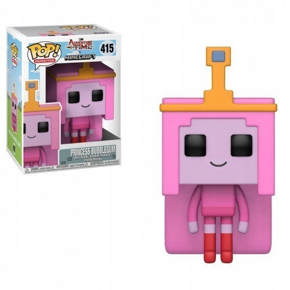 Figurka Funko POP TV: Adventure Time / Minecraft - Princess Bubblegume 415 Funko - TV Funko - POP!