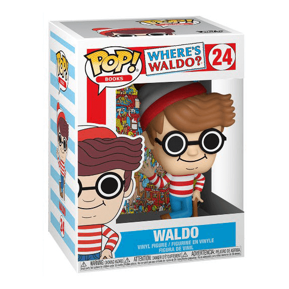 Figurka Funko POP Books: Where's Waldo? - Waldo - 24 Funko - Różne Funko - POP!