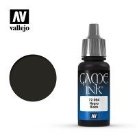 Farba Vallejo Game Color Ink 094-17 ml. Black Ink Seria Game Color Vallejo