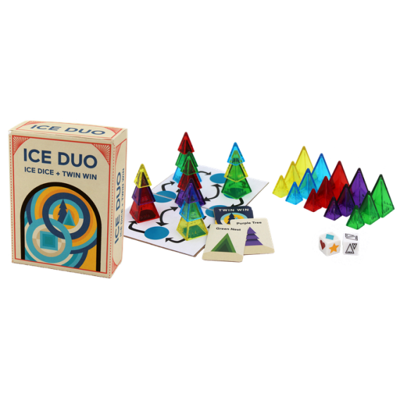 Ice Duo Crowdfunding Looney Labs