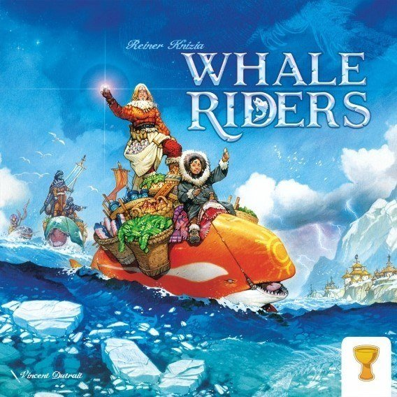 Whale Riders + Card Game ( edycja Kickstarter) Crowdfunding Grail Games