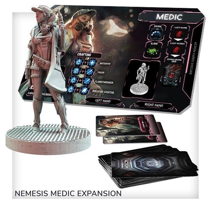 Nemesis: dodatek Medyk (edycja polska)