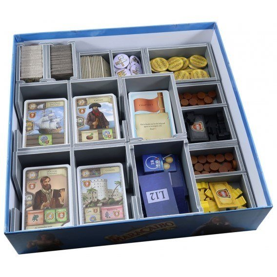 Folded Space: organizer do gry Maracaibo Inserty - Folded Space Folded Space