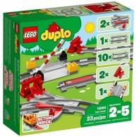 LEGO Klocki DUPLO Tory kolejowe Duplo Lego