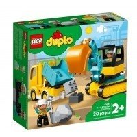 LEGO Klocki DUPLO Ciężarówka i koparka gąsienicowa Duplo Lego