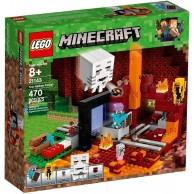 LEGO Minecraft Portal do Netheru Minecraft Lego