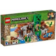 LEGO Klocki Minecraft Kopalnia Creeperow Minecraft Lego