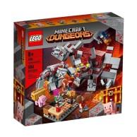 LEGO Klocki Minecraft Bitwa o czerwony kamień 21163