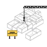 Folded Space: organizer do gry Park Niedźwiedzi Inserty - Folded Space Folded Space