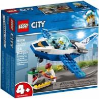 LEGO Klocki City Policyjny patrol powietrzny City Lego