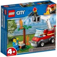 LEGO Klocki City Płonący grill City Lego
